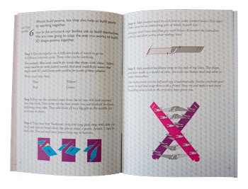 Letter Game 6: 3D dna poetry