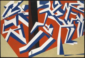 David Bomberg - The Mud Bath - 1914