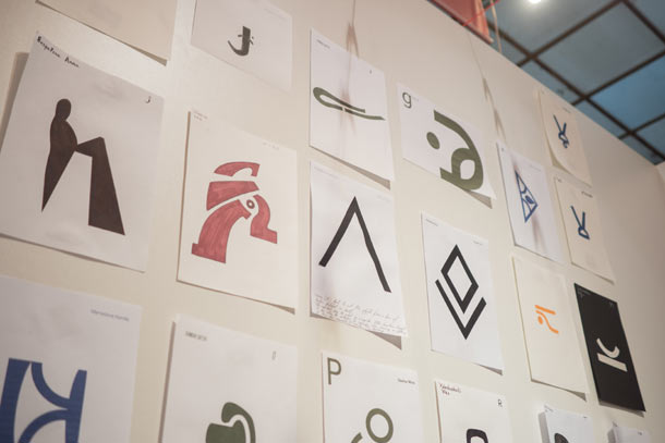 The BA Illustration Students' Final Glyphs